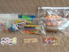 No Mess Busy Bag Ideas for 2 Year Olds