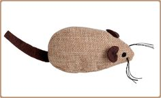 Crochet Hats, Beanie, Sachets, Diy, Animals, Shape, Fabric Animals, Cat Toys, Felt Mouse