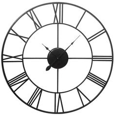 71 best home decor images on pinterest clock wall art walls and Conversation Pit Couch liven up your home d cor with the giant metal clock with roman numerals visit your local at home store to purchase and find other affordable home d cor
