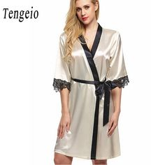 a0460d0bef 2017 NEW Fashion women men nightwear sexy sleepwear lingerie sleepshirts  nightgowns sleeping dress good nightdress Kimono Robe