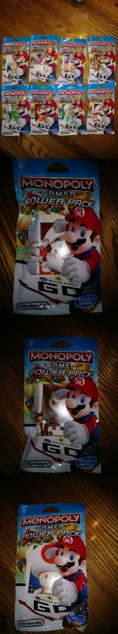 Game Pieces Parts 7317: Nintendo Monopoly Gamer Power Packs Complete Set Of 8! -> BUY IT NOW ONLY: $64.99 on eBay!