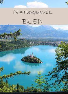 Wenn du ein paar Tage an einem wunderbaren Ort an einem See verbringen möchtest ist Bled genau das richtige Ziel für dich! Die Anreise von Österreich ist kurz und landschaftlich sind der Ort und seine Umgebung einfach traumhaft :-) Glamping, Blogger Themes, Mountains, Nature, Movie Posters, Travel, Image, Rowing Scull, Slovenia
