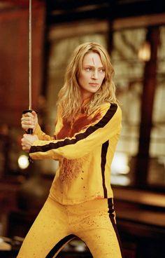 "Uma Thurman . ""Kill Bill"" film de Quentin Tarantino (2003)"
