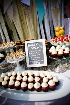 Dessert-Only Receptions