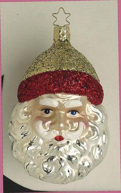 Inge Glas 2003#Christbaumschmuck#aus dem Hause Inge Glas.Weihnachtsbaumschmuck made in Germany mundgeblasen und von Hand bemalt bei www.gartenschaetz...