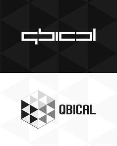 qbical, cube, cubical, cubism, experimental work, logo design for sale