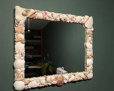 Hermosa concha espejo - 20 pulg. x 24 en. (ENVÍO GRATUITO)