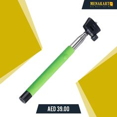 Opal Selfie Stick Green #selfiestick #selfie #capture #moments #online #picture #photo #shopping #menakart