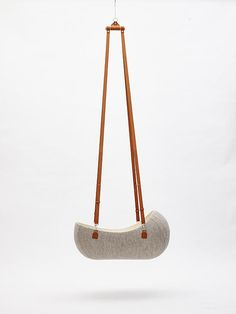 The Little Nest, designed by Oszkar Vagi, is made out of a single piece of Merino wool, double layered, and handcrafted by master hatter László Girardi.