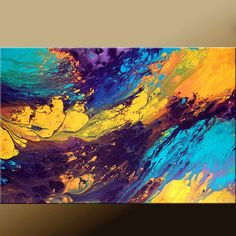 Arte abstracto pintura arte contemporáneo moderno por wostudios
