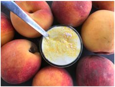 If you've been missing flavored yogurts since you started eating keto, you might shed a tear or two when you try this recipe. It's peachy and mango-y and creamy and everything you'd want in a flavored yogurt - with none of the sugar or artificial stuff! Organic Green Coffee Beans, Green Coffee Bean Extract, Yogurt Recipes, Keto Recipes, Delicious Recipes, Keto Drink Mix, Greek Yogurt Protein, Ice Cream At Home, Low Carb Sweets