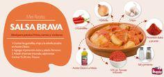 Hoy aprendemos a cocinar #salsa #brava casera, una receta con la que tus #patatas #bravas quedarán irresistibles. Acompaña también tus carnes y verduras con esta salsa.