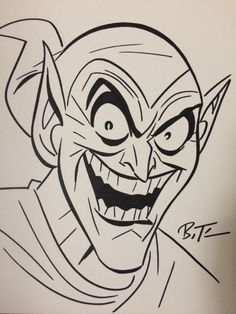 The Green Goblin by Bruce Timm - SDCC 2015 Comic Art