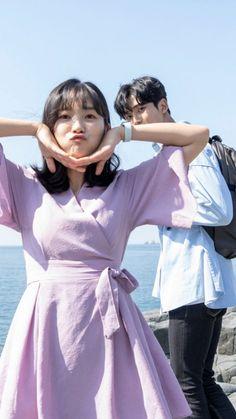 Drama Film, Drama Movies, Drama Korea, Korean Drama, Asian Actors, Korean Actors, Korean Outfits School, Kdrama, Ulzzang Couple