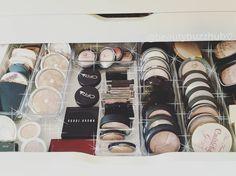 """highlight drawer ♡ see any of your favorites? #byalegory #byalegoryorganizers #acrylicmakeuporganizer #acrylicorganizer #makeupstorage…"""