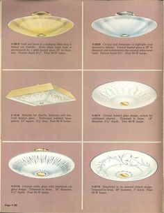 Vintage Virden lighting - 52 page catalog from 1959 - Retro Renovation Ceiling Light Fixtures, Ceiling Lights, 1950s Furniture, Retro Renovation, Old Lamps, Types Of Lighting, Vintage Lighting, Lamp Shades, Interior Design Inspiration