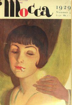 Erich Schütz Mocca, Cgi, Art Deco, Magazine Covers, Movies, Movie Posters, Smoking, Film Poster, Films