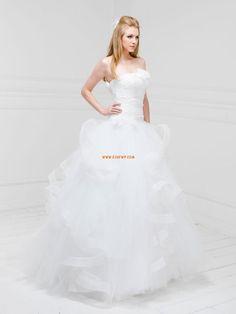 Princess-Stil Chic & Modern Tiefe Taille Brautkleider 2014