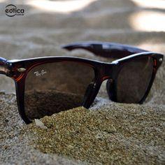 Praia + Óculos Ray-Ban #praia #oculos #rayban