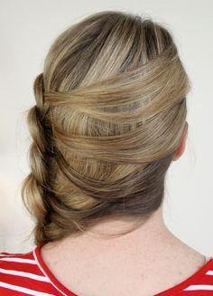 How to make braid 6 mermaid side Dutch braids #Hairstyle #HairstyleTutorial #6MermaidTutorial