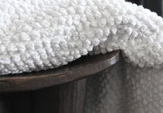 newest temoyan blanket style: 'nudos' from l'aviva home