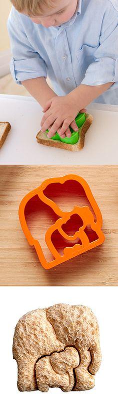 Elephant Sandwich Cutter