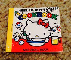1976 hello kitty mini sticker book seal vintage