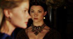 Anne Boleyn stares down Jane Seymour.