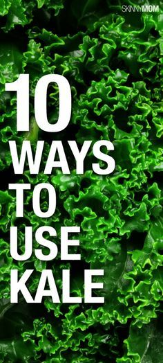 Try these 10 kale recipes! Kale has so many nutritious benefits that everyone should have it at least once a day. Get Healthy, Healthy Cooking, Healthy Life, Healthy Living, Cooking Recipes, Healthy Food, Veggie Dishes, Vegetable Recipes, Vegetarian Recipes