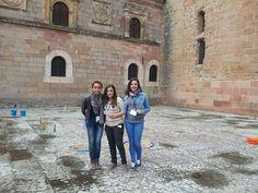 Prueba del circuito de agua en la Catedral de Sigüenza.