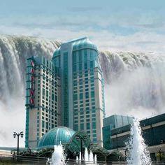 Casino Resort, Niagara Falls...!  It is just 100 yards away from Niagara falls!