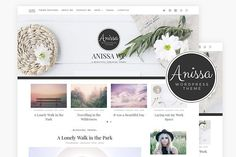 Anissa / Blog & WooCommerce Theme by AlienWP on @creativemarket