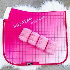 """Urban Horsewear on Instagram: """"Pink Heaven 💖 HKM Advance Saddlepad with HKM Bandages. Shop here: www.urbanhorsewear.com 💵 Afterpay & Zippay 🇦🇺 Free postage on orders over…"""" Equestrian, Heaven, Urban, Pink, Free, Shopping, Instagram, Sky, Horseback Riding"""