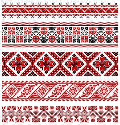 illustrations of ukrainian embroidery ornaments, patterns, frames and borders. Stock Vector - 8877449 Vector - illustrations of ukrainian embroidery ornaments, patterns, frames and borders. Folk Embroidery, Cross Stitch Embroidery, Embroidery Patterns, Cross Stitch Borders, Cross Stitch Patterns, Motifs Blackwork, Free Vector Illustration, Vector Illustrations, Palestinian Embroidery