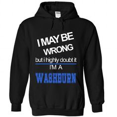 WASHBURN - #coworker gift #gift sorprise. GET IT => https://www.sunfrog.com/Names/WASHBURN-5104-Black-26421843-Hoodie.html?68278