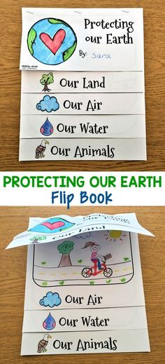This Earth Day flip book is wonderful to use on Earth Day or any time during the year. I have included several different Earth Day activities in this resource for you to choose from. They are designed to help your students understand that they too can play an important role in helping to protect the earth.