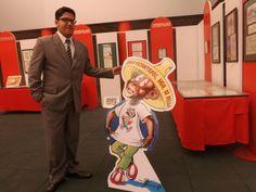 """En Pachuca me topé con una exhibición dedicada a """"Memin Pinguin"""", la tira cómica muy famosa en México. Luego, conocí a su ilustrador. Linda expo en la misma Televisión de Hidalgo / #viajes #travel #viajesmuseo #traveller #travelling #vacation #placestovisit #trips #MeminPinguin"""
