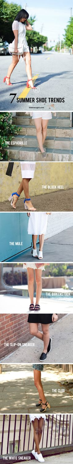 7 Shoe Trends to Try This Summer #fashion #trends