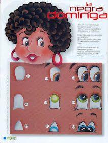 Ojitos   Una muestra como dibujar y pintar ojos para las princesas, para los niños y también para las niñas:)  Abajo quisiera compartir con...