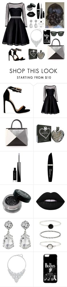 """""""84"""" by tasneemkm ❤ liked on Polyvore featuring Marc by Marc Jacobs, Fendi, Vera Wang, Givenchy, Max Factor, Lime Crime, Kenneth Jay Lane, Accessorize, Swarovski and Ray-Ban"""