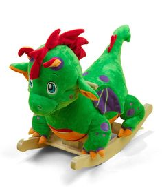 Poof the Lil' Dragon Rocker | Daily deals for moms, babies and kids