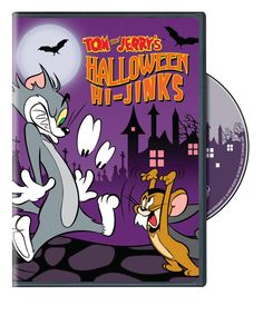 Shop Tom and Jerry: Halloween Hi-jinks [DVD] at Best Buy. Find low everyday prices and buy online for delivery or in-store pick-up. Halloween Dvd, Feliz Halloween, Halloween Night, Halloween Masks, Spirit Halloween, Baby Halloween, Halloween Themes, Tom And Jerry Movies, Tom Et Jerry