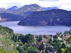 San Martin de los Andes y lago lacar