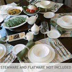 10 Strawberry Street Bone China 32 Piece Dinnerware Set