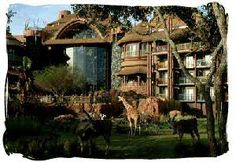 Animal Kingdom Lodge - Orlando. We could live there forever...
