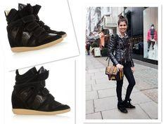 Isabel Marant Bazil Sneakers, Isabel Marant Fashion, Isabel Marant Shoes Black,