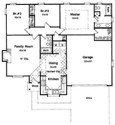 simple house floor plan | Printable House Floor Plans - Reliable ...