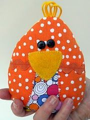 Introducing {drumroll please.} The Chick-sicle! {A rice-filled Cooling Pad for children} As a mother of seven . Sewing Hacks, Sewing Crafts, Sewing Projects, Craft Projects, Projects To Try, Craft Ideas, Sewing Ideas, Felt Projects, Sewing Tutorials