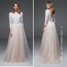 Sommer bride? 💍🌿It's time to secure your favorite SADONI dress! 🌎 Especially if you're looking for something different we can help you with our range of timeless simplicity, bohemian styles, or our effortless mix & match concept that suit any occasion. Either you go traditional or causal we got your back! 👈 . Gorgeous bridal skirt CANDY nude with top BIRA is a subtle and fun style that will create a personal, yet unique style for your wedding day! 👰 Bridal Skirts, Prom Dresses, Formal Dresses, Sustainable Clothing, Slow Fashion, Mix Match, Scandinavian Design, Bohemian Style, Cool Style