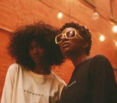 Neely and Enfys Black Girl Aesthetic, Orange Aesthetic, Black Power, Type 4c Hairstyles, Curly Hair Styles, Natural Hair Styles, Brown Skin Girls, My Black Is Beautiful, Black Girls Rock